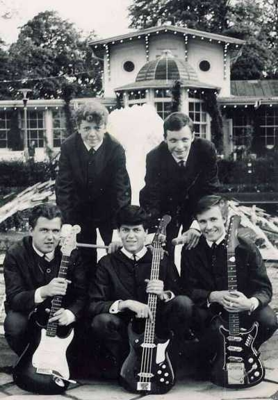The Strangers in 1964 - Tivoli-Land